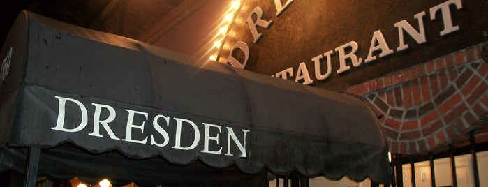 The Dresden Restaurant is one of SoCal Bars.