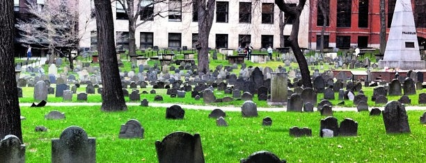 Granary Burying Ground is one of Downtown Boston, Chinatown & North End.