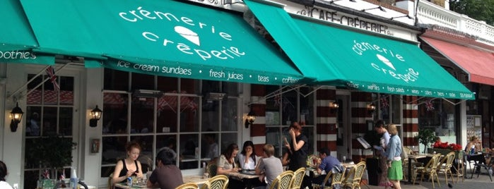 Kensington Crêperie is one of London Favourite.