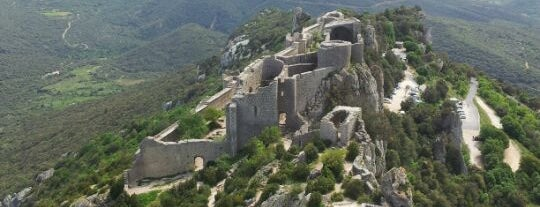 Château de Peyrepertuse is one of Lugares guardados de Jean-Marc.