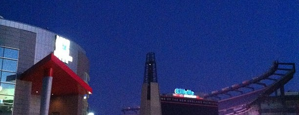 Gillette Stadium is one of Sporting Venues.