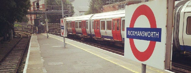 Rickmansworth Railway Station (RIC) is one of You calling me a train spotter?.
