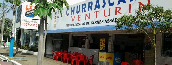 Churrascaria Venturin is one of Locais salvos de André.