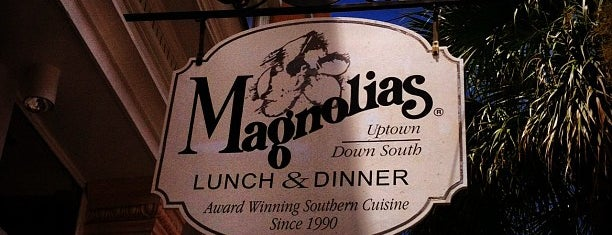 Magnolias is one of 500 Things to Eat & Where - South.