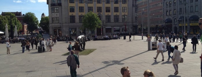 Jernbanetorget is one of Oslo City Guide.