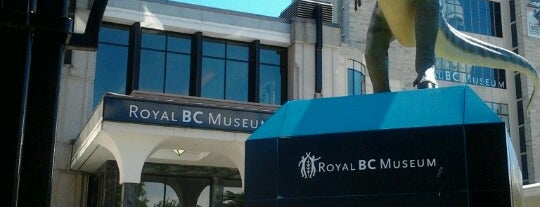 Royal British Columbia Museum is one of Lieux qui ont plu à Crispin.