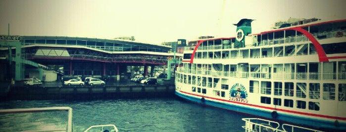 桜島フェリー船内 桜島行 / sakurajima-ferry is one of สถานที่ที่ ZN ถูกใจ.
