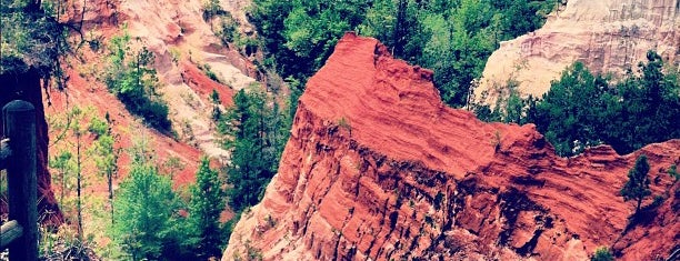 Providence Canyon State Park is one of CBS Sunday Morning 2.