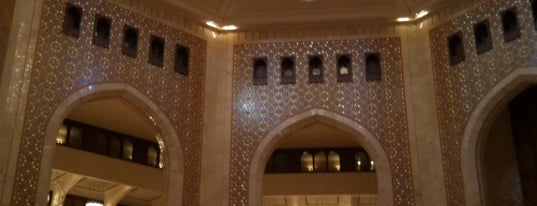 Al Bustan Palace, a Ritz-Carlton Hotel is one of Where, When & Who List-1!.