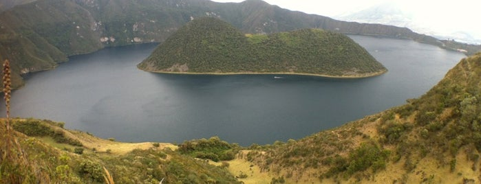 Laguna de Cuicocha is one of Ecuador best spots.