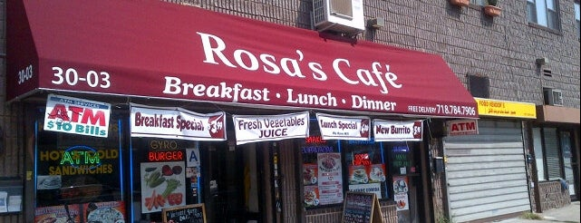 Rosa Coffee Shop is one of Queen's Best Coffee by Subway Stop.