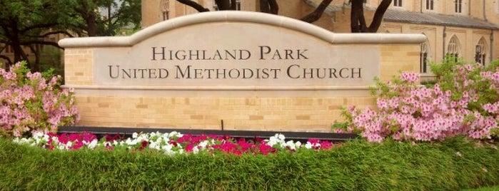Highland Park United Methodist Church is one of J.R. : понравившиеся места.