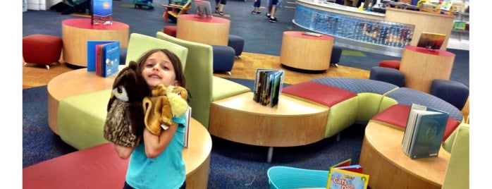 Mandel Public Library of West Palm Beach is one of South Florida Kids.