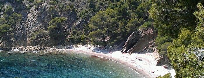 Cala Rostella is one of Playas de España: Cataluña.