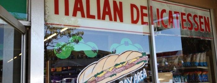 Roma Italian Delicatessen is one of Neon/Signs California 2.
