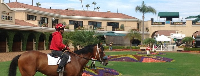 Del Mar Racetrack is one of Lugares favoritos de Dan.