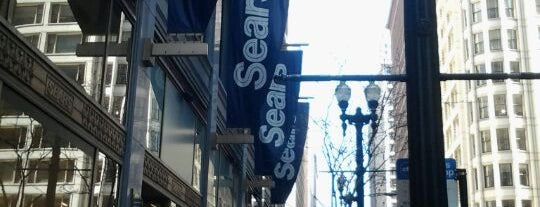 Sears is one of Orte, die James gefallen.