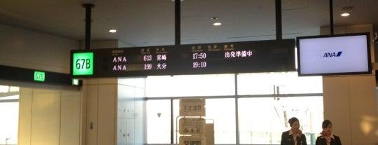 Gate 67B is one of 羽田空港 第2ターミナル 搭乗口 HND terminal2 gate.