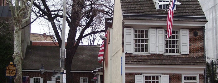 Betsy Ross House is one of Revolutionary War Trip.