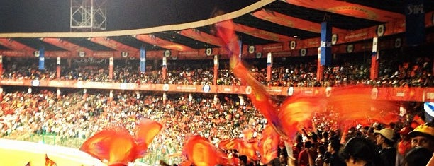 M. Chinnaswamy Stadium is one of Bengaluru, India.
