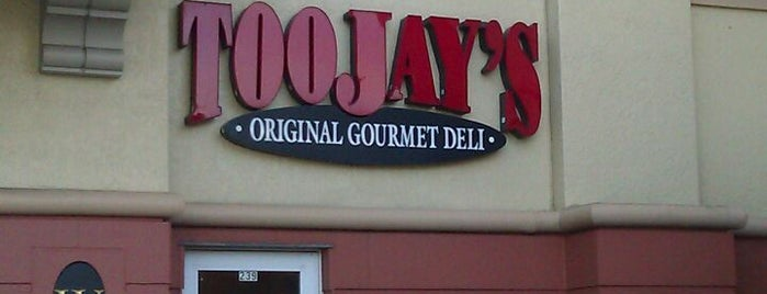 TooJay's Gourmet Deli is one of Beau's Liked Places.