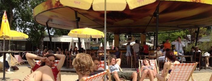 Strandbar Herrmann is one of EM Public Viewing.