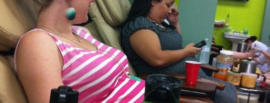 All About You Nails Salon is one of Posti che sono piaciuti a Rhonda.