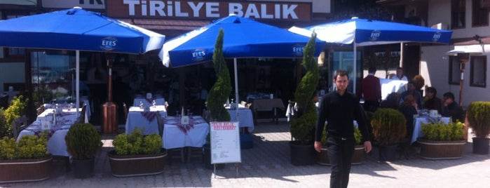 Tirilye Balık Restorant is one of Lugares favoritos de Emel.