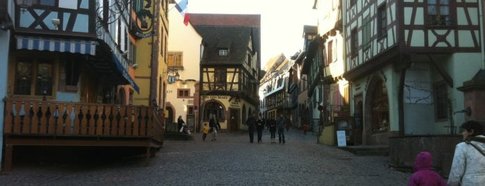 Riquewihr is one of wonders of the world.