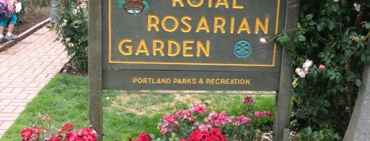 International Rose Test Garden is one of Portland, OR.