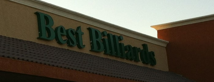 Best Billiards is one of Vegan dining in Las Vegas.