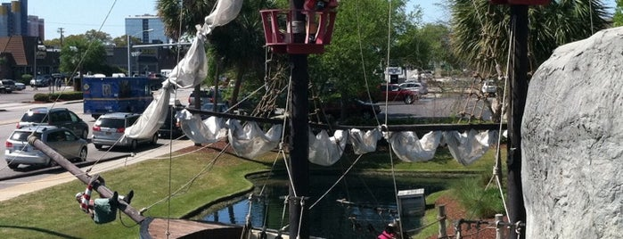 Captain Hook's Mini Golf is one of Myrtle Beach.