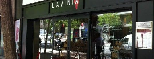 Lavinia is one of Madrid.