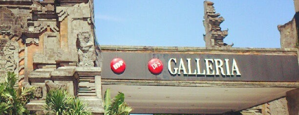 Mal Bali Galeria is one of pick up.