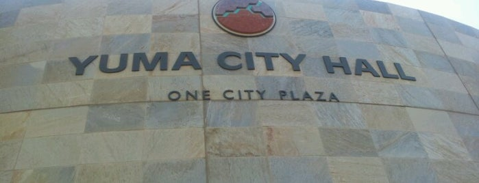 Yuma City Hall is one of SW US Roadtrip.
