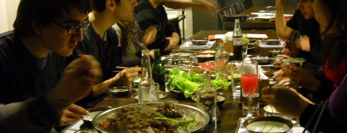 Korean B.B.Q. is one of Bares, restaurantes y otros....