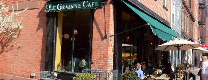 Le Grainne Cafe is one of Lugares guardados de Mary.
