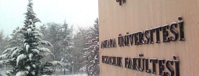 Ankara Üniversitesi Eczacılık Fakültesi is one of Posti che sono piaciuti a Dilek.
