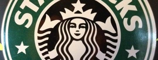 Starbucks is one of La Voy's Favs.