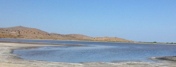 Gökceada Tuz Gölü is one of Biga Yarımadası.