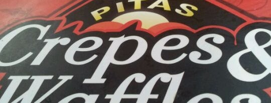 New Pita Crepes & Waffles is one of Almuerzo Lu-Vi.