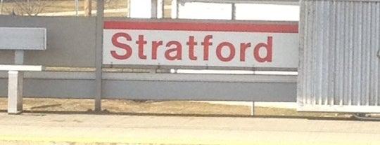 Metro North - Stratford Train Station is one of New Haven Line & Northeast Corridor (Metro-North).