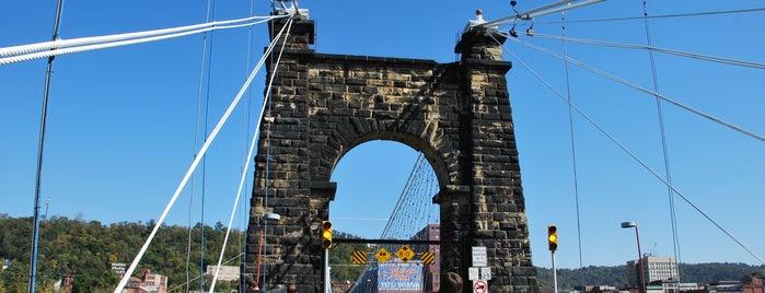Wheeling Suspension Bridge is one of Favorites: Northern Panhandle WV.