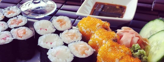 China Stix & Sushi is one of Posti che sono piaciuti a Eser Ozan.