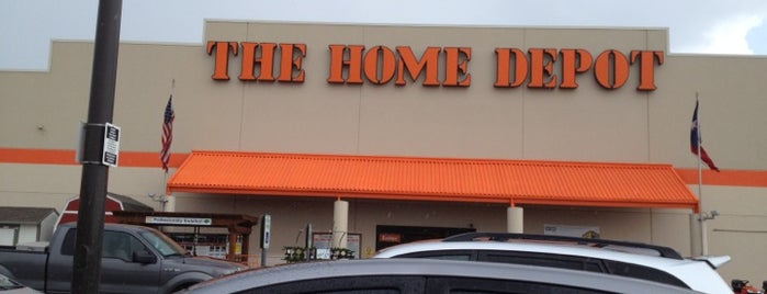 The Home Depot is one of Elena's Liked Places.