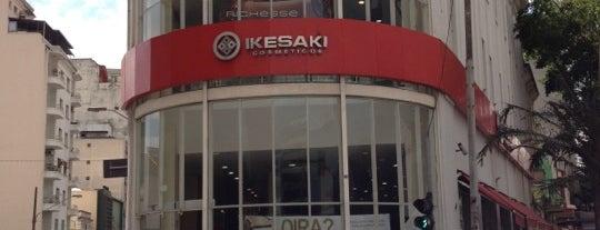 Ikesaki Cosméticos is one of Liberdade.