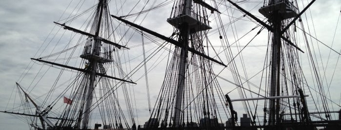 USS Constitution is one of Ships (historical, sailing, original or replica).