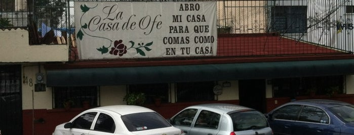 La Casa de Ofe is one of Donde comer.