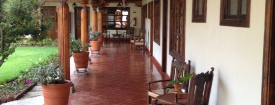 Hotel Misión Pátzcuaro is one of สถานที่ที่ Diane ถูกใจ.