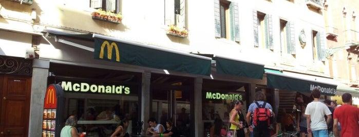 McDonald's is one of Venezia.